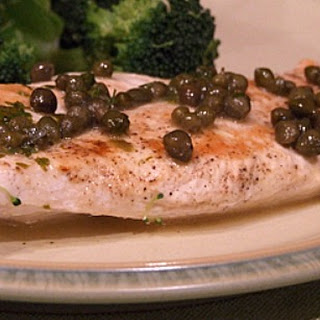 Chicken with Lemon- Caper Sauce