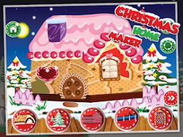 Screenshot of Christmas Home Maker