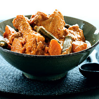 Chicken Stew with Okra