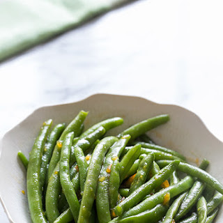 Orange Glazed Green Beans Recipes