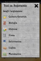Screenshot of Test Università (gratis)