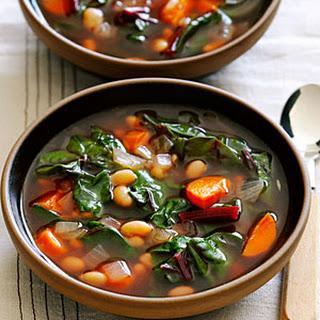 White Bean Chard Soup Recipes