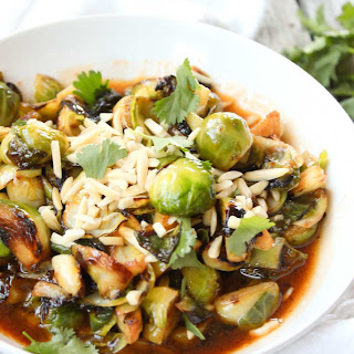 Sriracha Fried Brussels Sprouts
