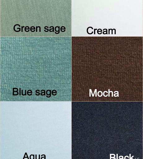 Softie colours