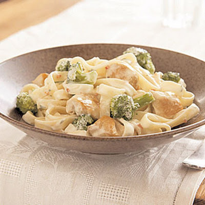 Easy Chicken & Broccoli Alfredo