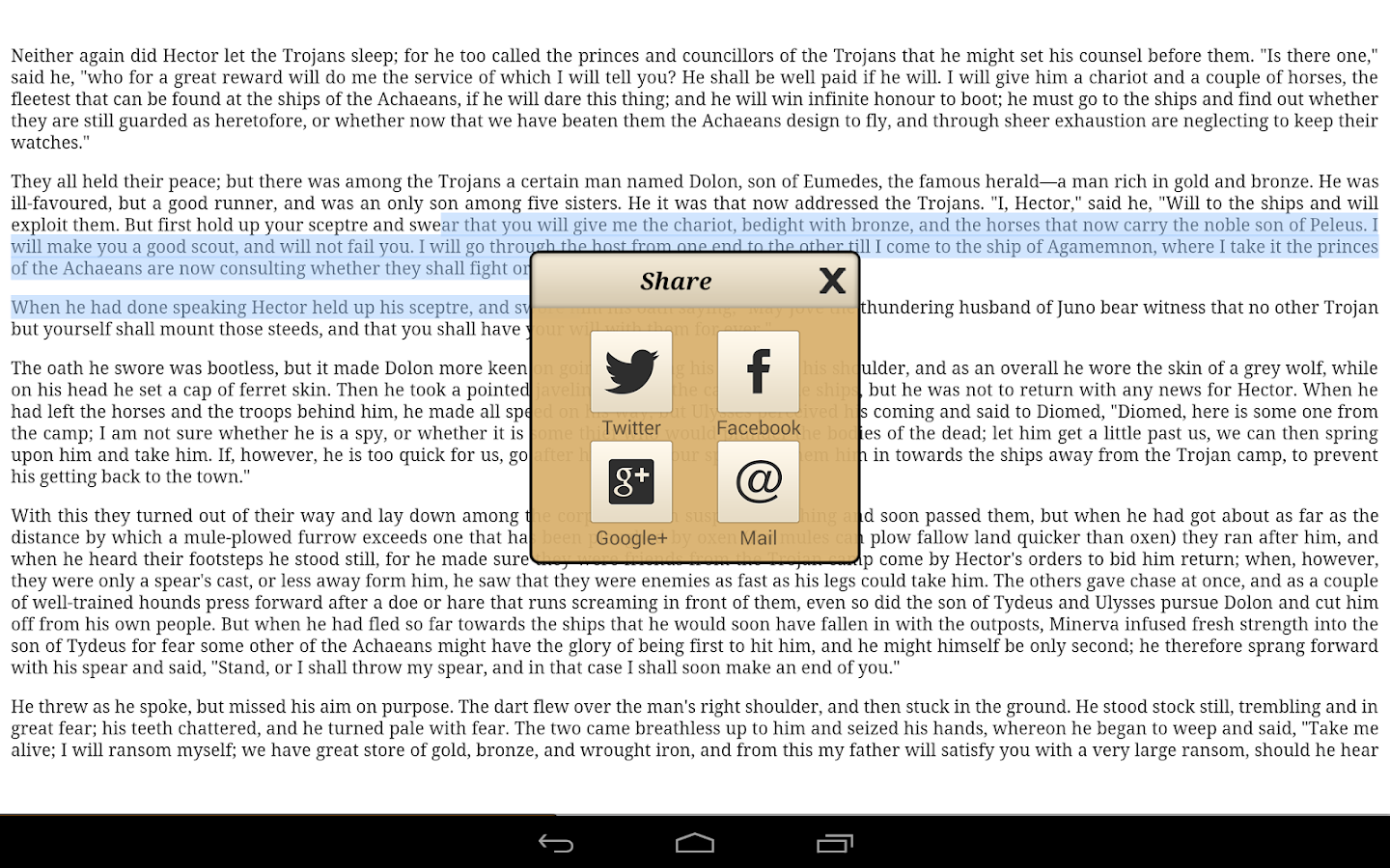 Ebook Reader Screenshot 9