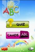 Screenshot of Baby Easy ABC Lite