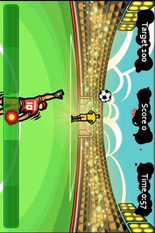 Goal Keeper - Fling