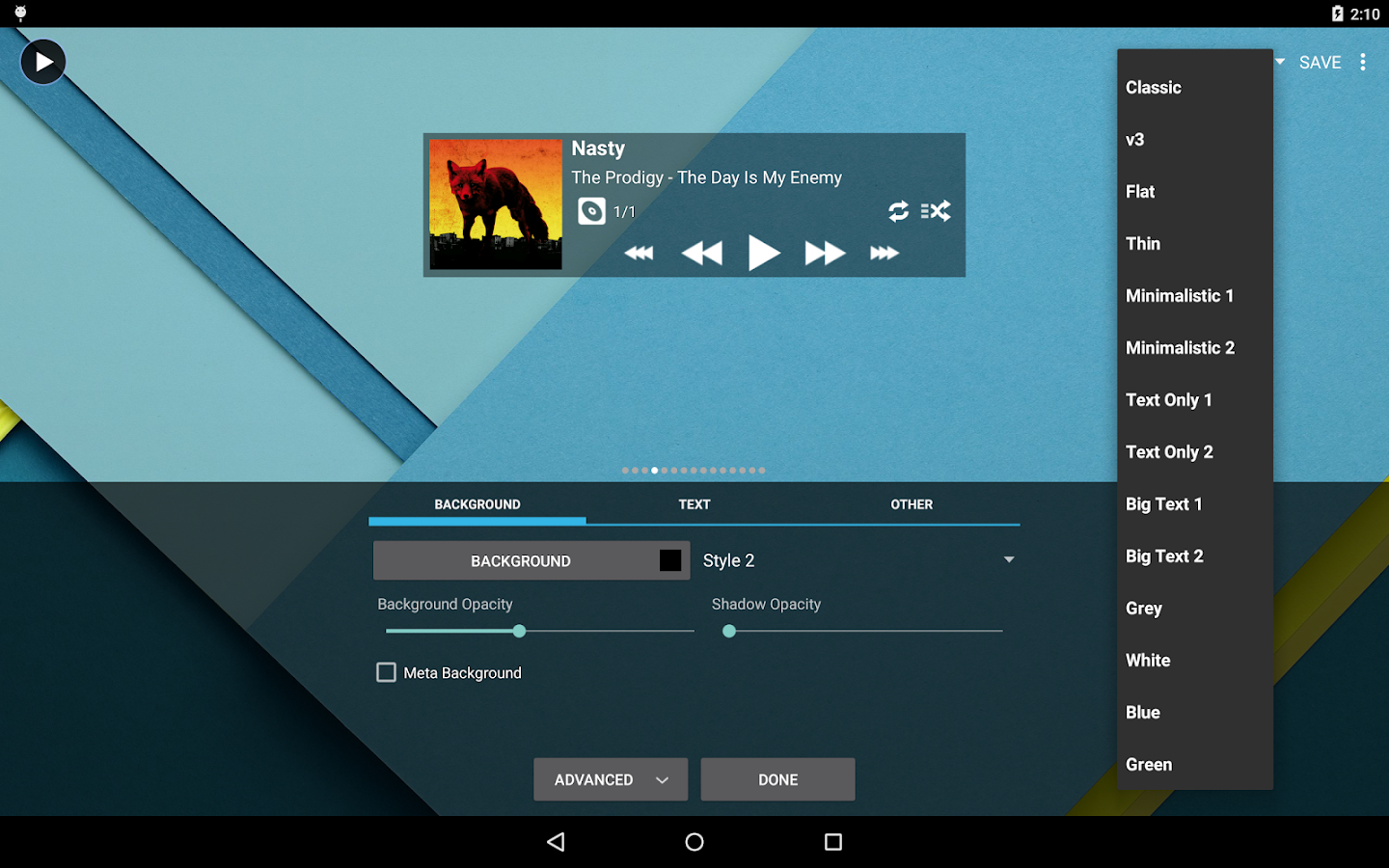 Poweramp Music Player (Trial) Screenshot 14