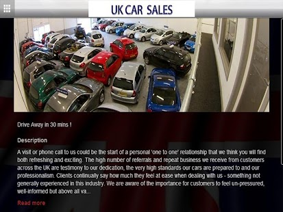 UK Car Sales - screenshot