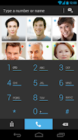 Screenshot of Phonedeck Contacts