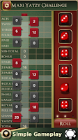 Screenshot of Maxi Yatzy Challenge