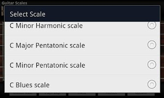 Screenshot of Guitar Scales & Jam Free