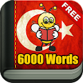 Learn Turkish - 6,000 Words APK for Bluestacks