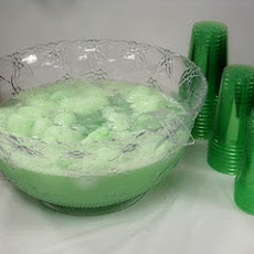 Green Shower Punch / Sherbet Punch