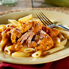Creamy Blush Sauce with Turkey and Penne