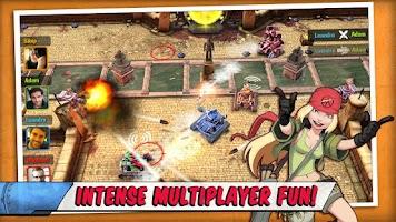 Screenshot of Tank Battles