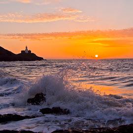 Mumbles Head by Clive Jones - Landscapes Sunsets & Sunrises