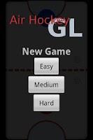 Screenshot of AirHockey GL