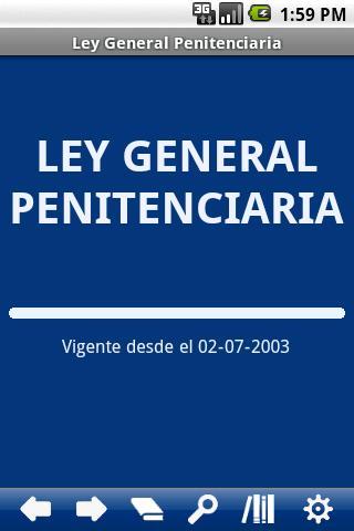Spanish G. Penitentiary Law