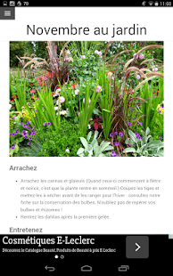Calendrier du jardin apk for blackberry download android for Calendrier du jardin