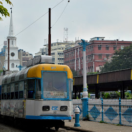 Tram, the oldest charm of charismatic Calcutta by Siddhartha Chatterjee - Transportation Other