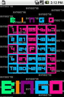 Screenshot of BINGO75