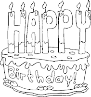 Screenshot of Birthday Coloring