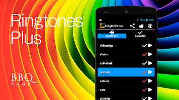Screenshot of Ringtone Plus