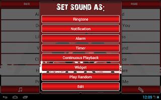 Screenshot of Free Latin Ringtones