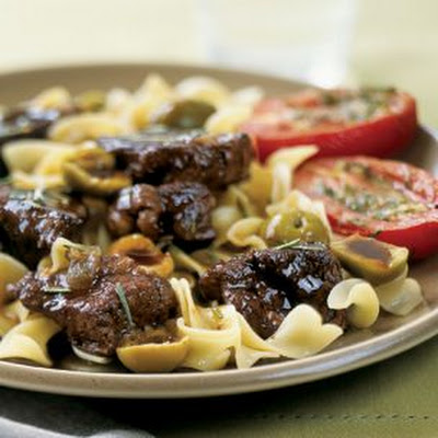 Beef Bourguignon with Noodles
