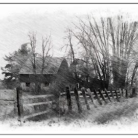 Country hobby farm. by Carolyn Kernan - Buildings & Architecture Other Exteriors