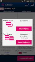 Screenshot of Rail Tickets