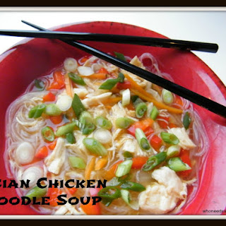 Asian Chicken Noodle Soup Scallions Recipes