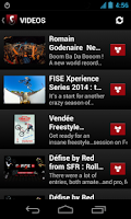 Screenshot of FISE Action Sports Events