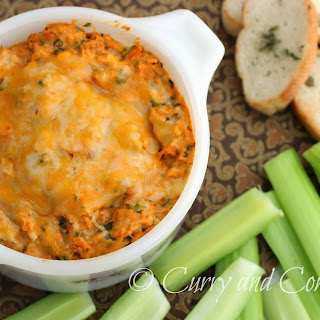 Buffalo Chicken and Spinach Dip