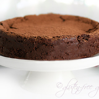 Karina's Wildly Rich Chocolate Truffle Cake