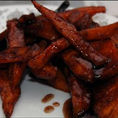 Cinnamon-Spiced Sweet Potato Fries