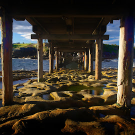 La perouse by Arnaud Charil - Buildings & Architecture Other Exteriors ( water, australia, nsw, ocean, bridge, rocks )