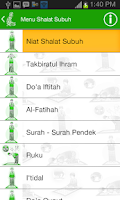 Screenshot of Tuntunan Shalat