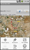 Screenshot of Recorridos GPS