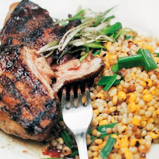 Guinea Hen with Sweet Corn Fregula Recipe