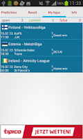 Screenshot of Soccer Prediction