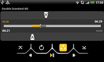 Screenshot of handy MP3 player Full