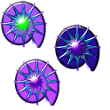 Crazy Clock Purple Shells icon
