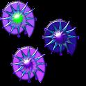 Crazy Clock Purple Shells icon