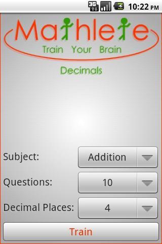 【免費教育App】Mathlete Decimals-APP點子