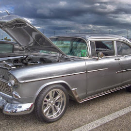 Chevy Belair by Jim Baker - Transportation Automobiles