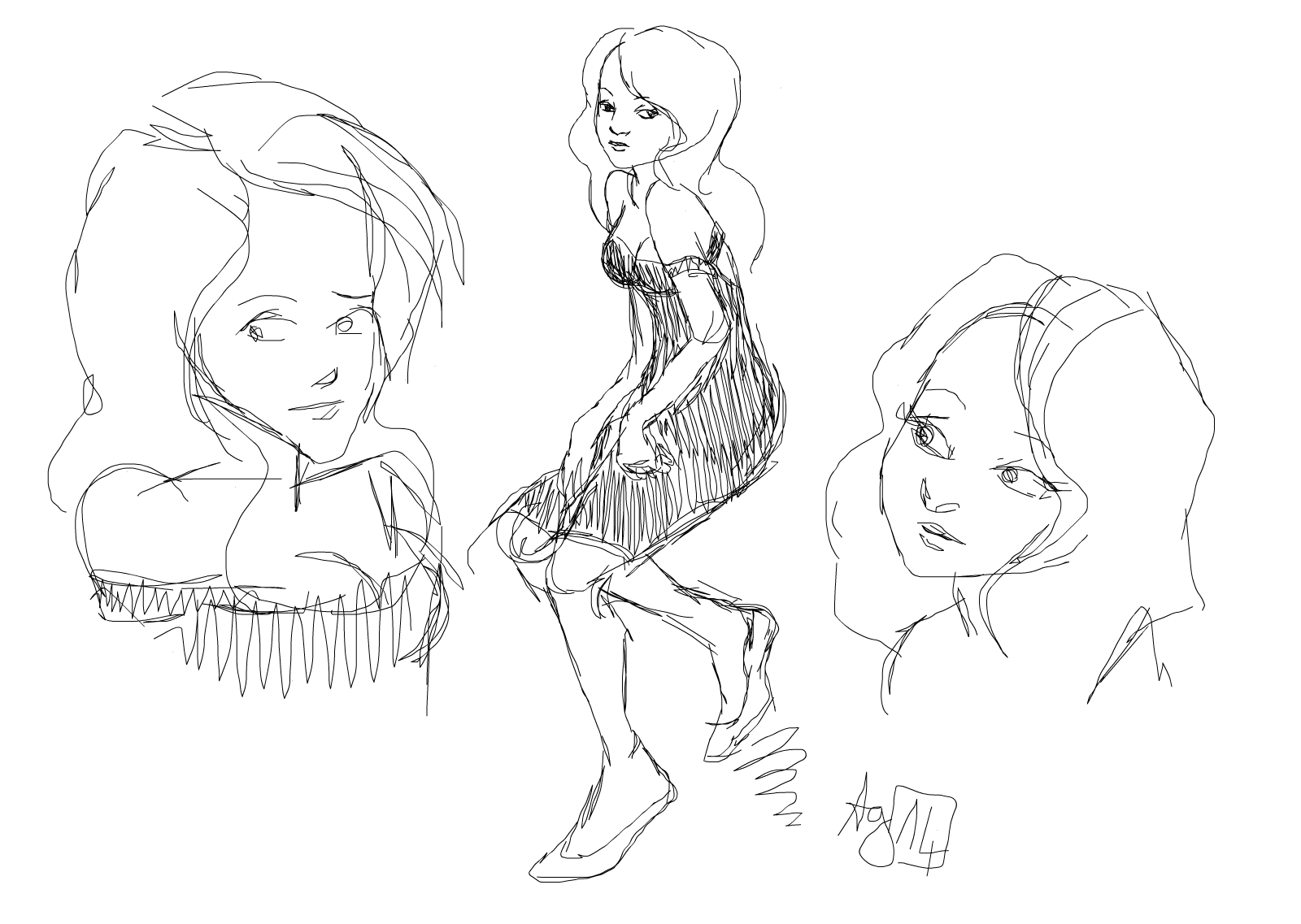 sketchie darling
