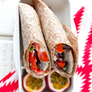 Mediterranean Vegetarian Wrap Recipes